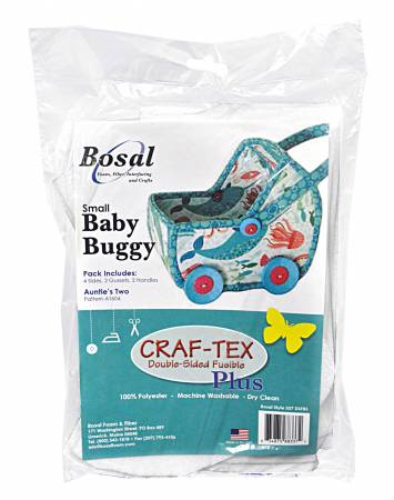 Small Baby Buggy Double Sided Fusible