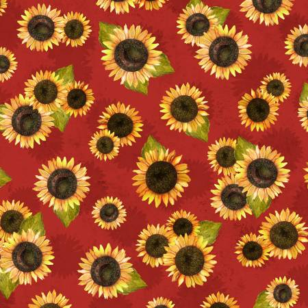 Red Sunflower Toss