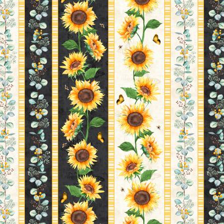 Wilmington Sundance Meadow 33847-195 Multi Repeating Stripe