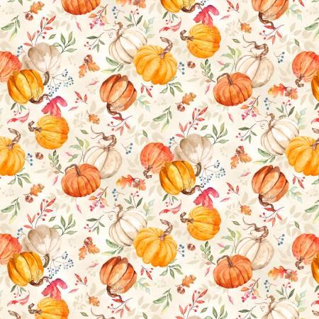Autumn Day 33865-282 Pumpkin Toss Tan