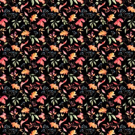 33867-987 Black Leaves & Berries (21G)