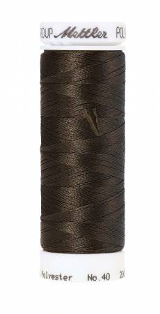 Poly Sheen Polyester Embroidery Thread 40wt 220yd Umber