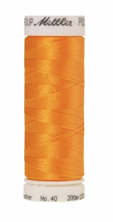 Poly Sheen Polyester Embroidery Thread 40wt 220yd Golden Rod