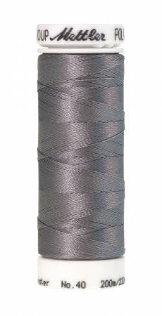 Poly Sheen Polyester Embroidery Thread 40wt 220yd Silvery Grey