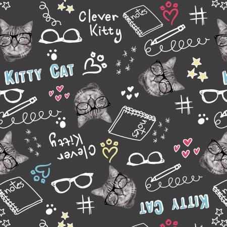 Black Clever Kitties