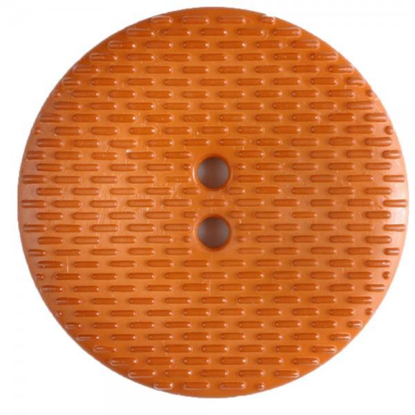 30mm Orange 2 Hole Fashion Button
