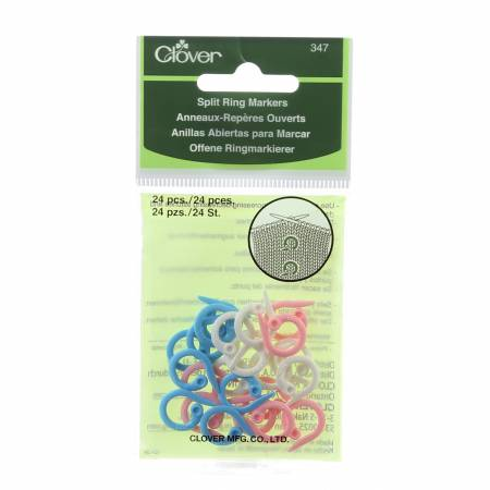 Clover Split Ring Markers 24ct