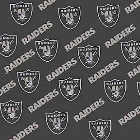 Black Oakland Raiders Cotton 58