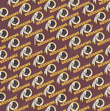 Burgundy Washington Redskins Cotton 60in