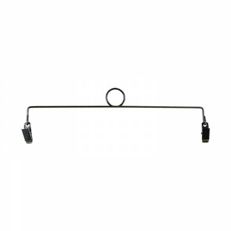 6in Ring Clip Holder- Charcoal