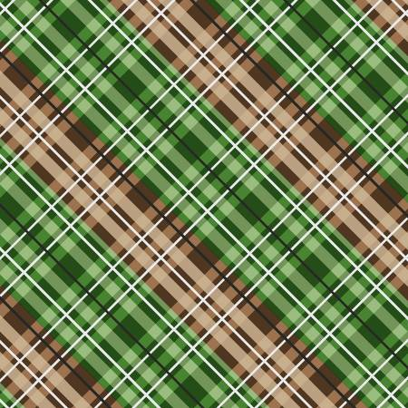 Green Plaid Flannel