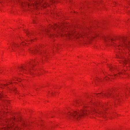 Cabin Welcome Flannel - Forest Texture - Red