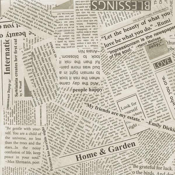 Spackle News Print