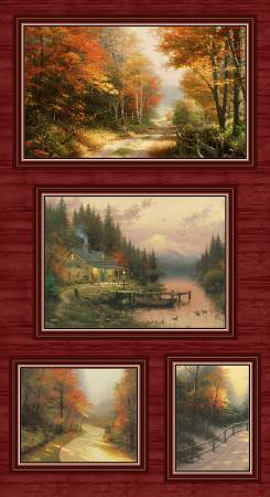 Multi Autumn Colors Digital Panel