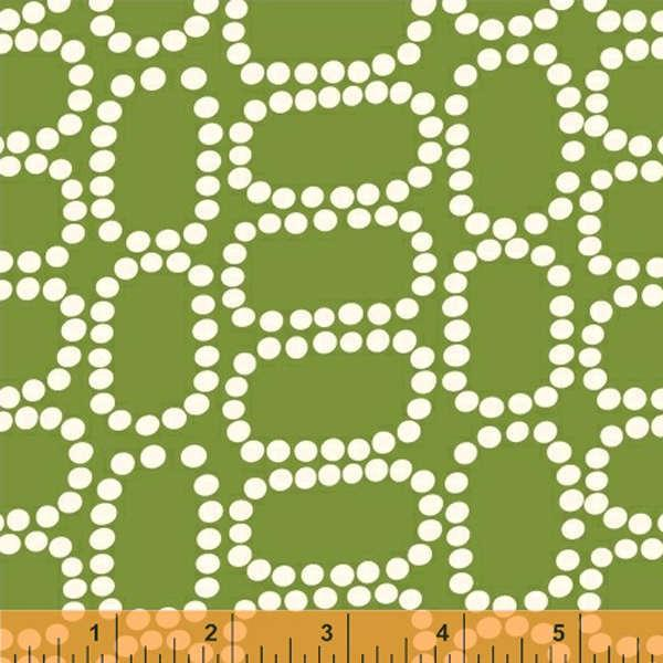 Dotted Ovals Downtown * Green ~ 37082-4