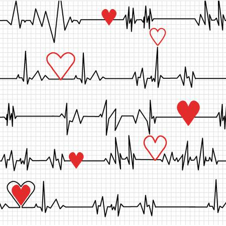 Calling All Nurses- White Heart Beat