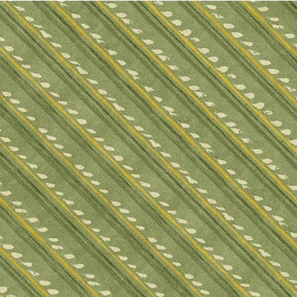 Green Diagonal Stripe