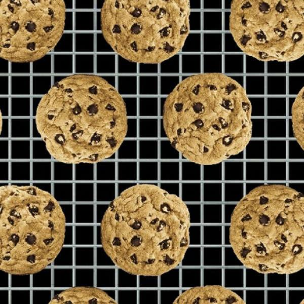 In the mix  Black Chocolate Chip Cookies