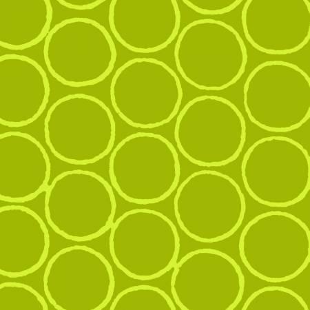 Modern Batiks Dark Lime Circles
