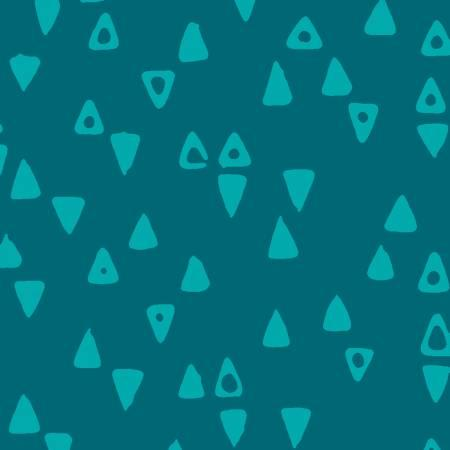 Modern Batiks Peacock Triangles