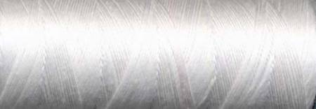 Cotton Sewing Thread 3-ply 50wt 100m White