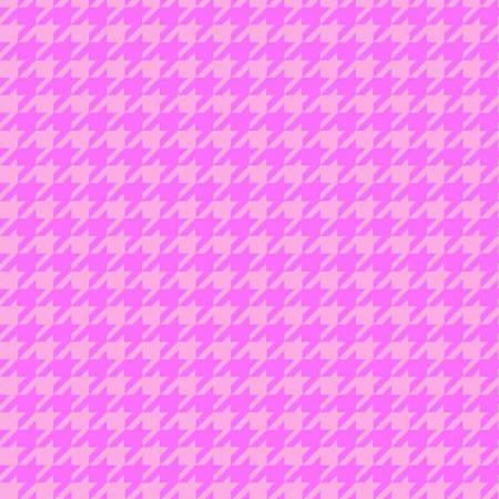 Pink Houndstooth Flannel