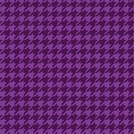 Purple Houndstooth Flannel