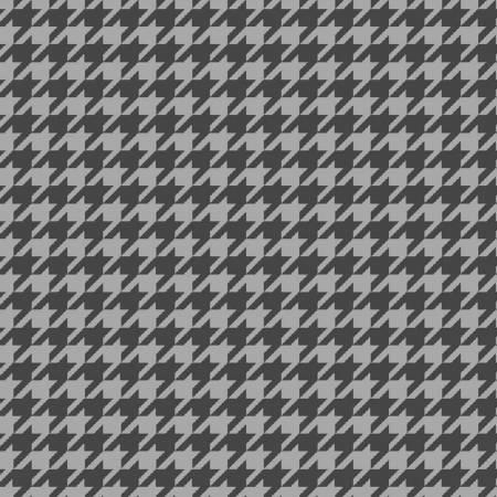 Medium Grey Houndstooth Flannel