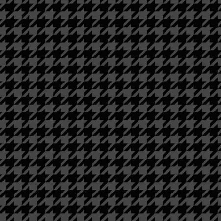 Black Houndstooth Flannel