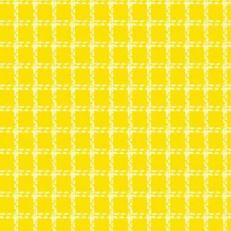 Yellow Mini Woven Flannel