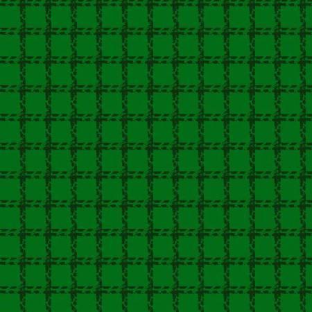 Green Mini Woven Flannel