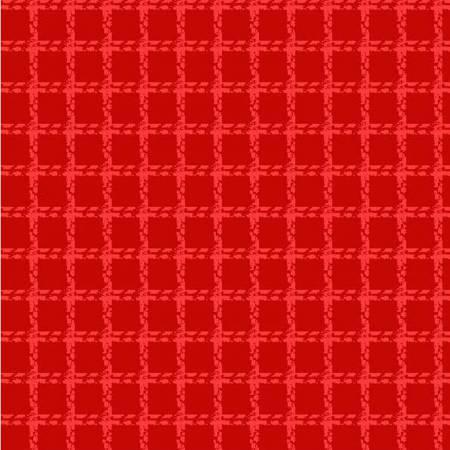 Red Mini Woven Flannel