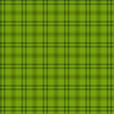 Green Window Pane Flannel