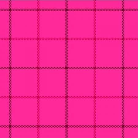 Hot Pink Tattersall Flannel
