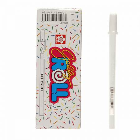 Gelly Roll Pen Opaque White