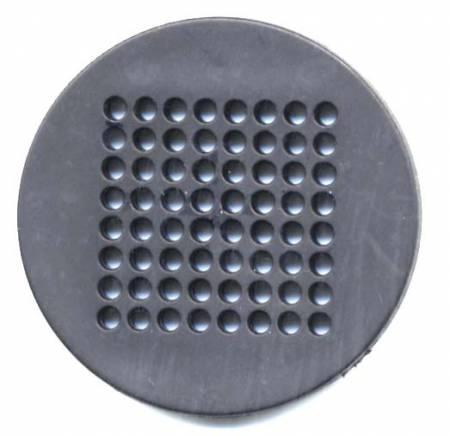 Button-Needlepoint Black