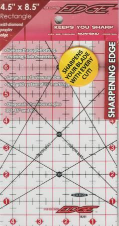 The Cutting Edge Sharpening Edge Ruler 4-1/2in x 8-1/2in