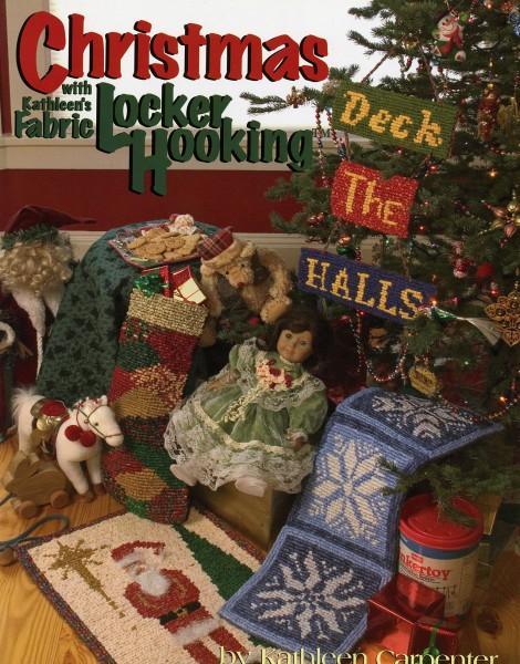 Christmas with Kathleen's Fabric Locker Hooking