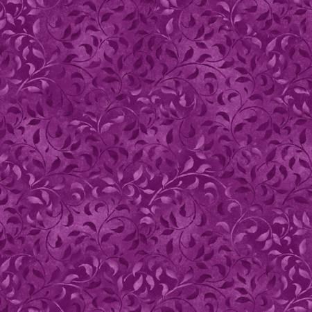 Wilmington Prints - Essentials - Violet Climbing Vine