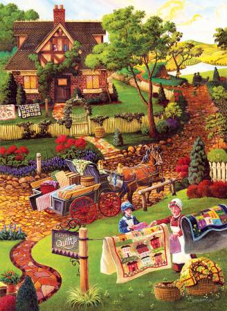 Marys Quilt Country 500pc Puzzle