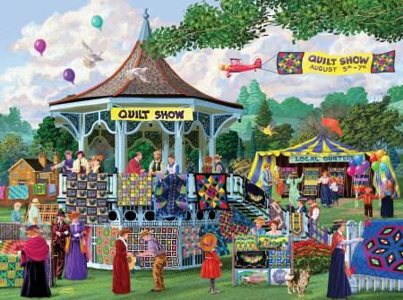 Summer Quilt Show Puzzle 1000pc