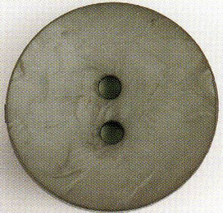 Round Polyamide Button 1-3/4in Pewter