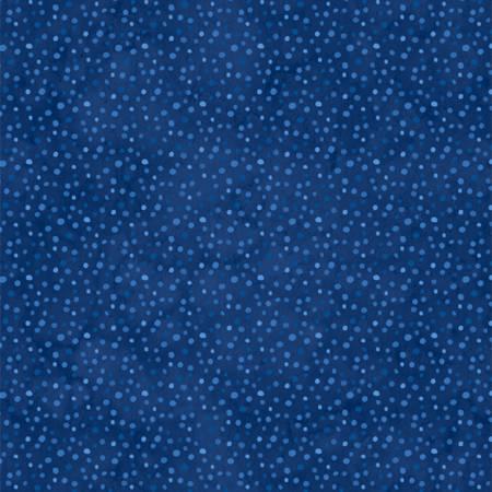 Navy Petite Dots