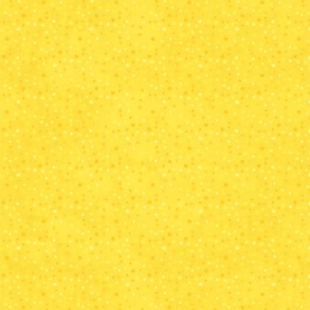 Bright Yellow Petite Dots