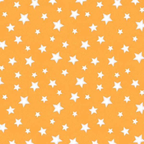 11 remnant Star Fall White Stars on Orange