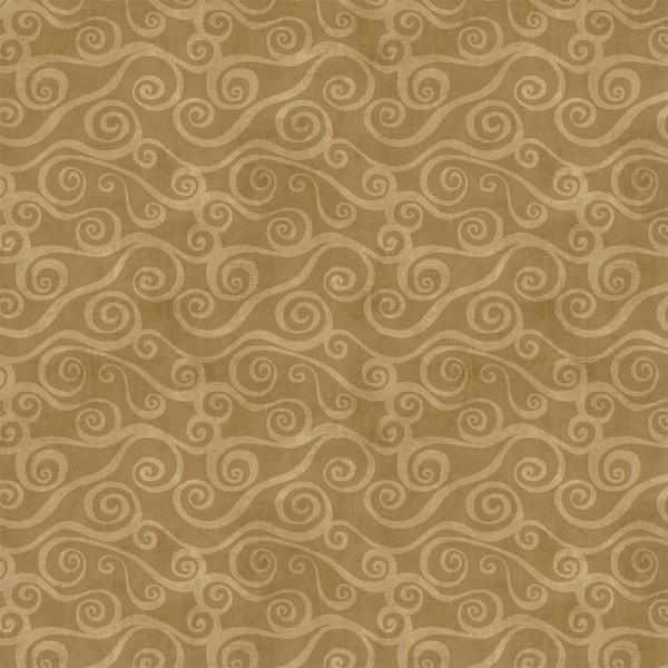 Light Brown Swirly Scroll 39081-222