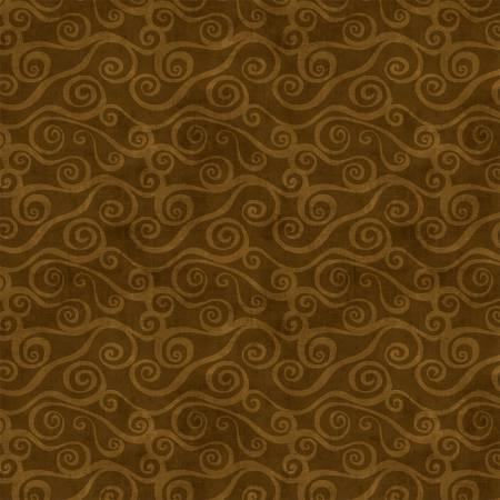 Essentials Swirly Scroll Dark Brown