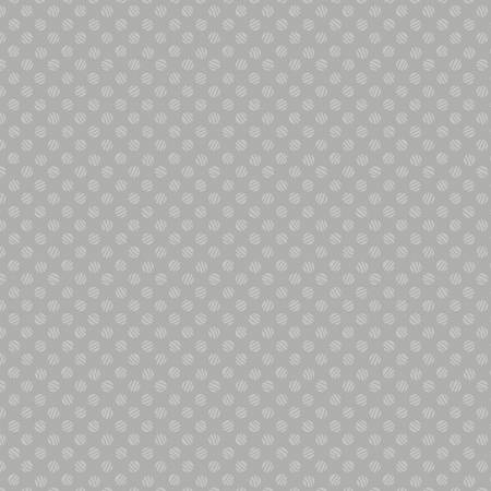 Essentials Dash Of Pepper Grey Lined Dots