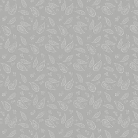 Essentials Dash Of Pepper Grey Paisley