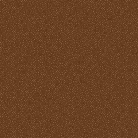 Dark Brown Dotted Circles